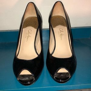 Cole Haan Patent Leather Heels With Nike Cushion